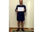 Azerbaycan: Erkeklerden #ozgecanicinminietekgiy kampanyası