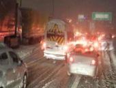 TEM'de trafik durdu İstanbul çıldırdı