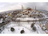 Kardan sonra İstanbul'da eşsiz görüntü