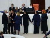 AK Partili kadın vekillerden iç güvenlik zinciri!