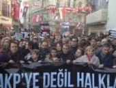 Taksim'de İç Güvenlik Paketi'ne protesto
