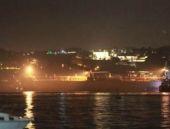 İstanbul Boğazı'nda korkutan anlar!