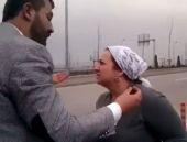 Ankaralı kadın sürücü şaşkına çevirdi