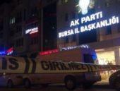 Ak Parti il binası önünde bomba alarmı!