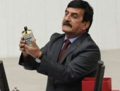 CHP'li vekil kürsüye elinde gaz bombası ile çıktı!