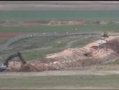 TSK sınıra hendek kazıyor Savaş hazırlığı mı?