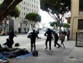 ABD: Los Angeles'ta polis bir evsizi öldürdü