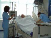 Hastaneye haciz geldi ortalık karıştı