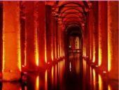 Türkiye'nin en gözde 2. mekanı Yerebatan Sarnıcı