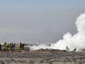 Konya'da düşen askeri uçağın ilk görüntüleri