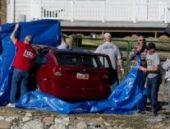 ABD: Nehre düşen araçtaki 18 aylık bebek 14 saat sonra kurtarıldı