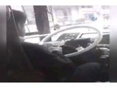 Halk otobüsü şoförü fena yakalandı