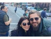 Ünlü çift New York'ta aşk tazeledi