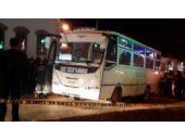 Üniversite öğrencilerine otobüs çarptı:1 ölü 1 yaralı