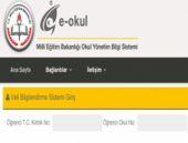 e-Okul Veli Bilgilendirme Sistemi Giriş 2015