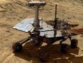 Mars robotuna bir haller oldu