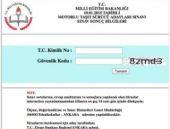 Ehliyet sonuçları sorgulama 22 Mart 2015 sınavı