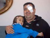7 yaşındaki kızını ilk defa görüyor