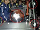 Fenerbahçe otobüsü silahlı saldırı ilk görüntüler