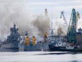 Rus nükleer denizaltısında yangın çıktı