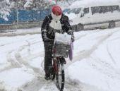 Kar yolları kapattı hava durumu şok etti!