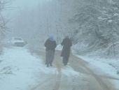 Manisa hava durumu kar yağışı şaşırttı