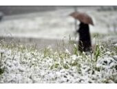 Nisan ortasında kar yağışı! Yurttan ilk kareler