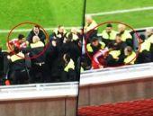 Milli futbolcu tekme tokat kavga etti