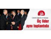 Erdoğan, Davutoğlu ve Kılıçdaroğlu birarada