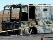 O araçta sadece yananlar 'suçlu'