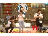 3 adam dans etti stüdyo çoştu!