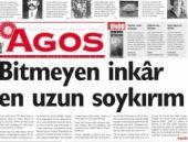 Agos gazetesi ilk kez 'soykırım' dedi!