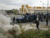 Baltimore'de protestolar şiddetlendi: 7 polis yaralı