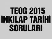 TEOG İnkılap Tarihi soru ve cevapları 2015 videolu