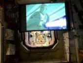 Star Wars filmi uzayda gösterimde