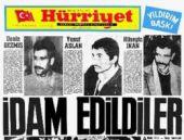 Deniz Gezmiş'in idamının üzerinden 43 yıl geçti