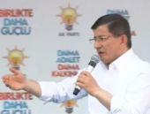 Davutoğlu AK Parti İstanbul  mitinginde konuşuyor