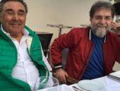 Ahmet Hakan ve Aydın Doğan'dan ilginç zamanlı fotoğraf