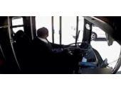 Otobüs şoförünün feci sonu