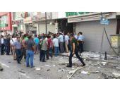 HDP il binasında patlama İşte o görüntüler
