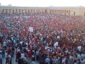 Anıtkabir'de 19 Mayıs izdihamı!