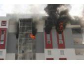 15'inci katta dehşet! Biri bebek 4 kişi yaralandı