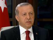 Erdoğan'ın canlı yayına damga vuran o anı!