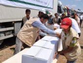 Suriye'ye 100 Tır'lık yardım