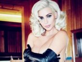 Kim Kardashian bu kez de Marilyn Monroe oldu!
