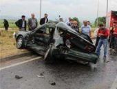 Bolu'yu yasa boğan trafik kazası!
