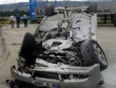 CHP milletvekili adayı kaza geçirdi