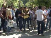 Gezi'de Zaman muhabirine polis tokadı!