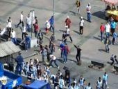 Eminönü'nde palalı-sopalı meydan savaşı!
