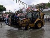 Sağanak yağış İstanbul'a kabus oldu!